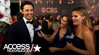 Milo Ventimiglia Says We'll See More Of Jack's Flaws In 'This Is Us' S2 | Emmys 2017