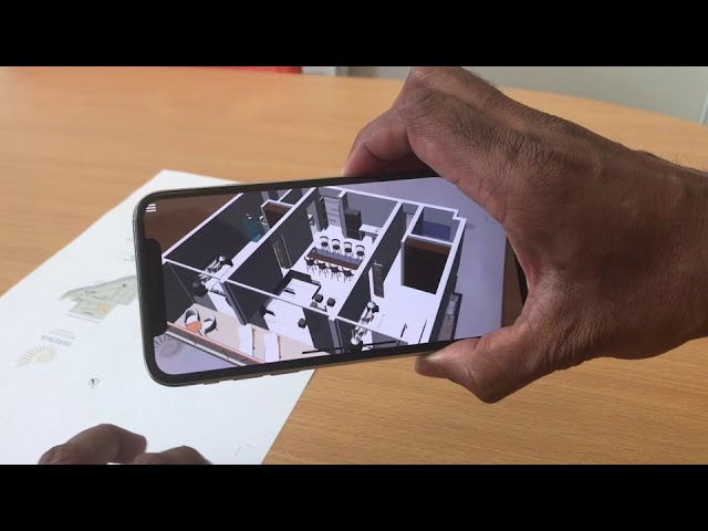 Serenia 2 bed apartment - 2D to 3D Augmented Reality