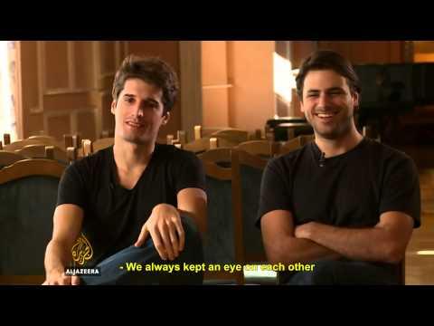 2CELLOS Interview | Al Jazeera Balkans (2013) ( ENG/SUB)  (1/2)