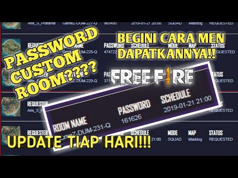 CARA MENDAPATKAN PASSWORD CUSTOM ROOM FREE FIRE SETIAP HARI!! - Custom Room Free Fire - 동영상