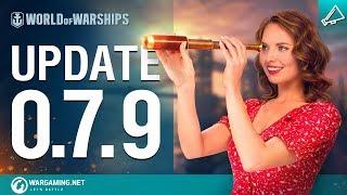 Dasha Presents Update 0.7.9 | World of Warships