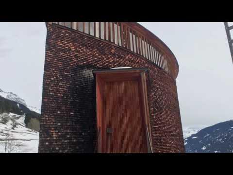 Saint Benedict Chapel, Sumvitg, Switzerland 2016