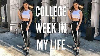 COLLEGE WEEK IN MY LIFE | THE MET, SHOPPING IN SOHO, + CELEBRATING