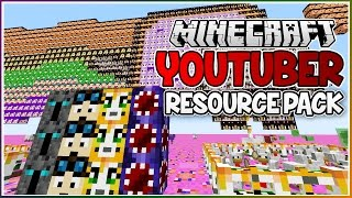 The YOUTUBER Minecraft Resource Pack!! thumbnail