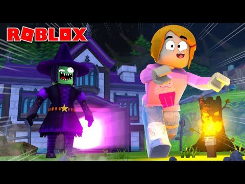 Roblox Escape The Witch With Molly Obby!