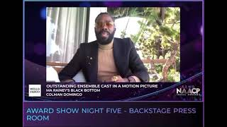 52nd NAACP Image Awards Colman Domingo & The Nikki Rich Show