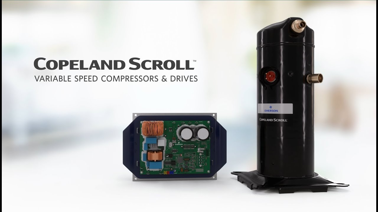 Scroll Compressors for HVAC | Commercial | Emerson US