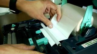 การใช้งานเครื่องพิมพ์บาร์โค้ด TSC TTP 247 Printer Barcode