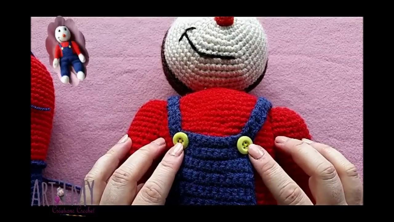 Créations Crochet Episode 1 Tchoupi Vidéo 4