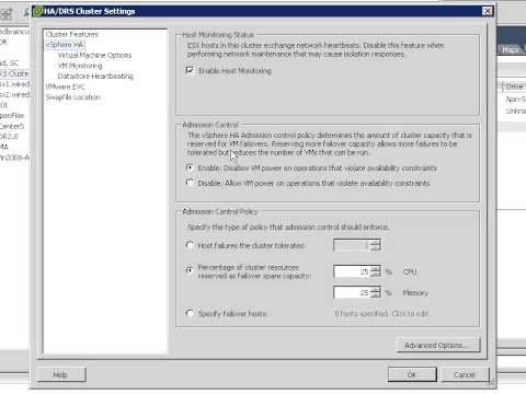 Implementing High Availability with VMware HA VMHA)