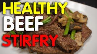 Keto Diet Beef Stir Fry -  beef recipes -  meat - meal prep