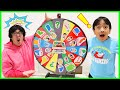 Spin the Mystery Wheel Challenge about USA!
