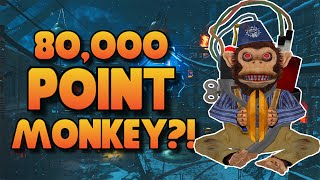 "Black Ops 3 ZOMBIES ""The Giant"" - 80,000 POINT MONKEY BOMB?!?! (BO3 Zombies Gameplay)"