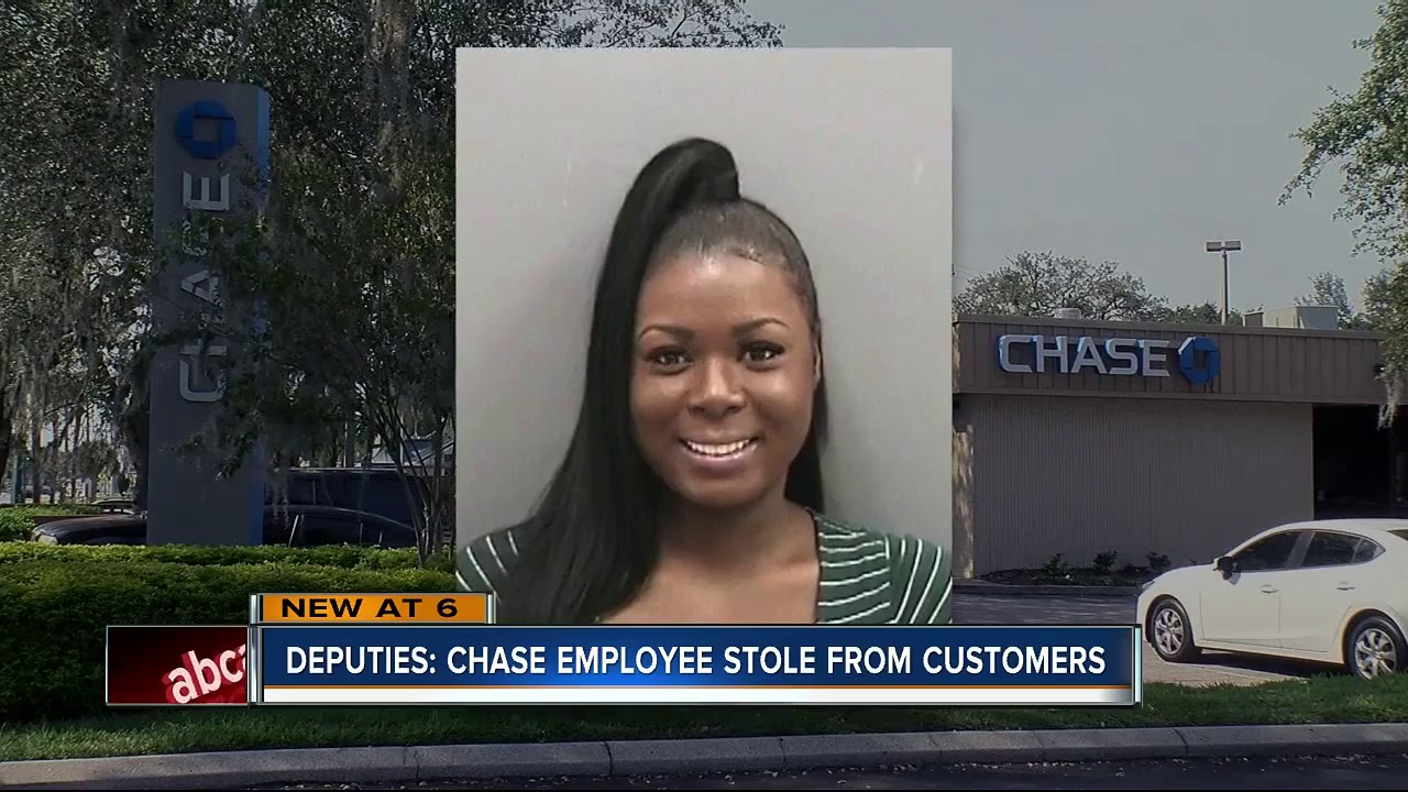 Chase call center employee arrested for stealing account information, making withdrawals
