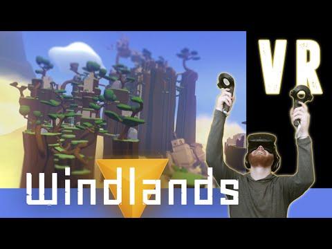 HTC Vive VR: Windlands - Explore a fallen civilization with grappling hooks