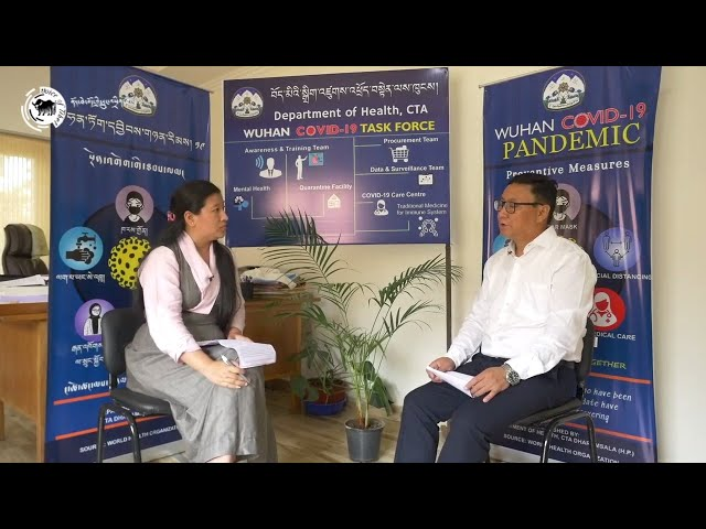 Unlock 1.0 : Interview with Palden Dhondup, CTA's Health Secretary