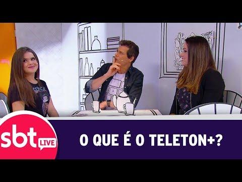 SBT Live Com Teleton+ - O Que é O Teleton+? | (09/10/17)