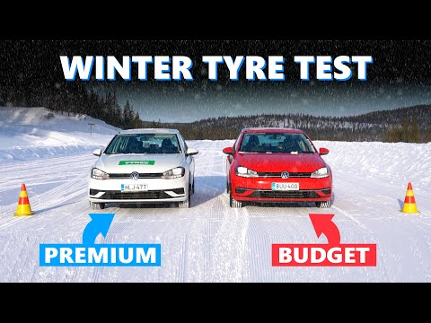 Expensive VS Cheap Winter Tyres ❄ Are Budget Winter Tyres Safe?