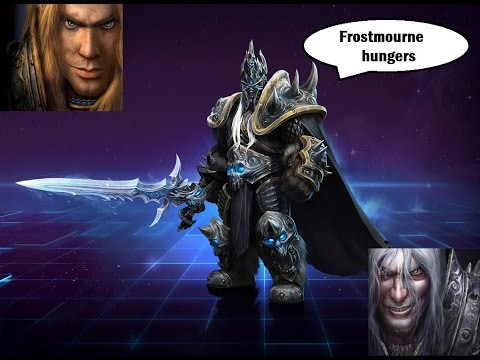 Lich King And Arthas Dialogues