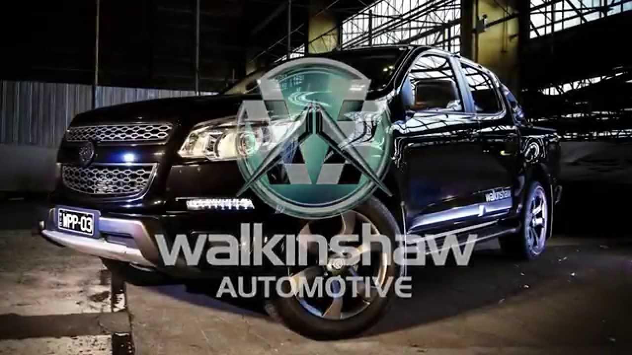 Walkinshaw Automotive- The Colorado project -
