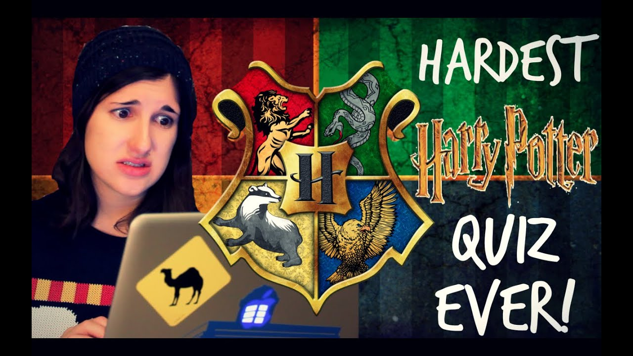 hardest harry potter quiz ever youtube. Black Bedroom Furniture Sets. Home Design Ideas