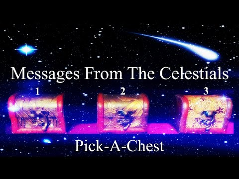 ✨Pick-A-Chest✨ Special Messages From The Celestials