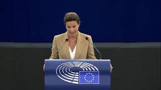 Intervento durante la Plenaria di Strasburgo di Alessandra Moretti, europarlamentare del partito democratico, sull'agenzia europea per i medicinali.