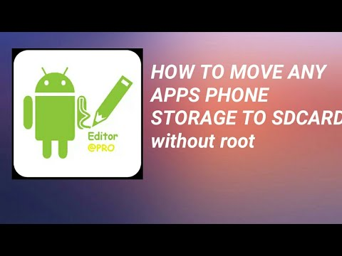 How to move any apps phone storage to sdcard with apk editor 1