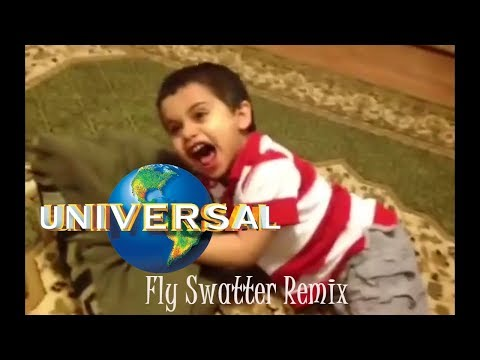 Kid Slapped By Fly Swatter Remix Universal Pictures Youtube
