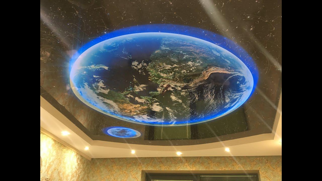 Устанавливаем потолок звездное небо в Сочи