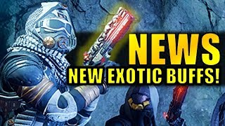 Destiny 2 News: NEW MAX LEVEL! | New Exotic Buffs Revealed & Warmind DLC Info!