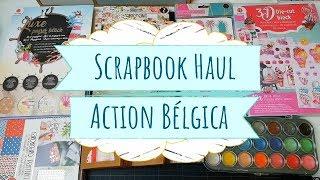 Action Haul | Compras de scrapbook | enero 2019