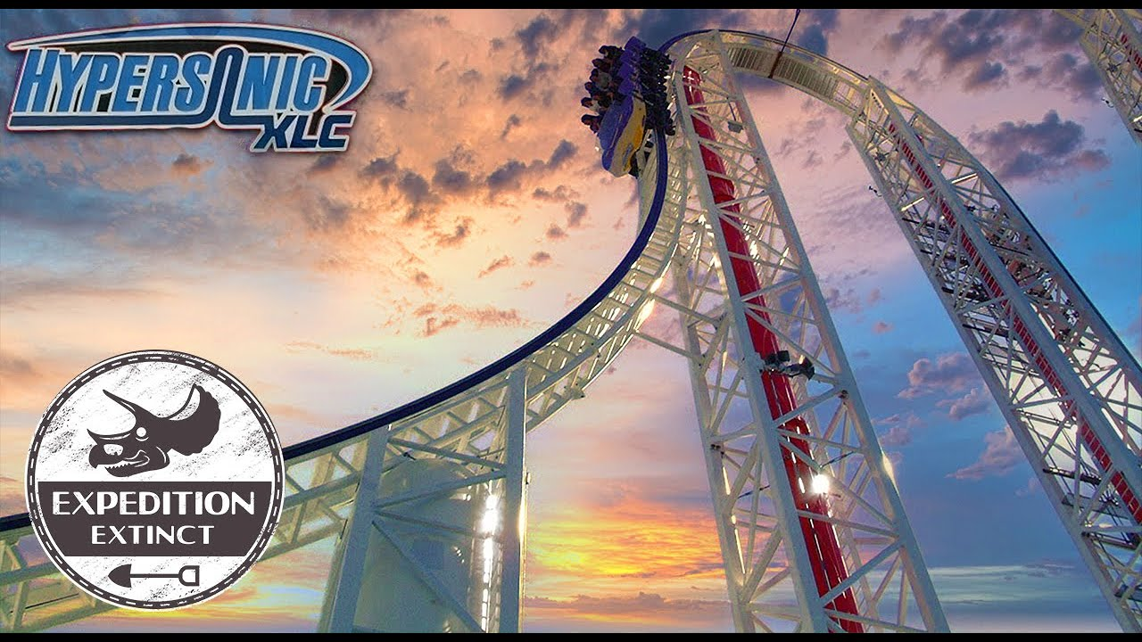The Troubled History of Hypersonic XLC: A Failed Air Powered Coaster Prototype? | Expedition Extinct