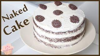 Naked Cake - Schoko Wunderkuchen - schnell & einfach selber machen - BACKLOUNGE - Rezept