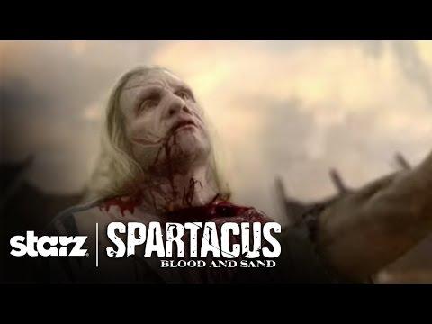 Spartacus: Uncut   Killing Time -Theokoles' Death   STARZ