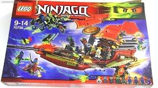 Built in 60 seconds: LEGO Ninjago Final Flight of Destiny's Bounty 70738