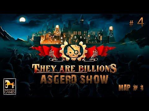 They Are Billions # 4   Прохождение Map # 4   Подходим к домам - Обманочка от зомби