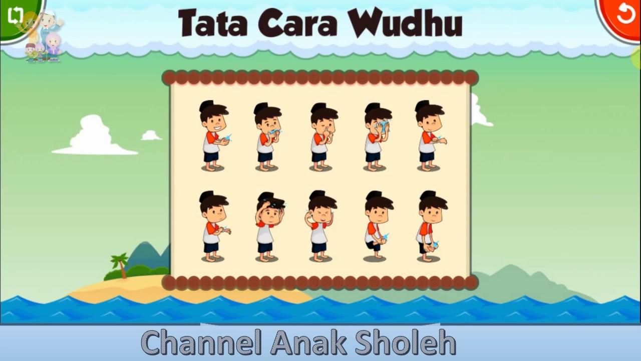 Belajar Wudhu Secara Lengkap Channel Anak Sholeh Youtube