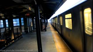 IRT Subway: R142 (2) and (5) trains at 233rd Street (with NIS R62 / R142/A)