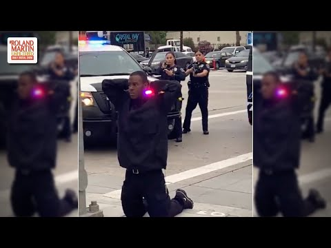 Black Woman Defends An Unarmed Black Man From Calif. Cops Who Were Prepared To Shoot Him