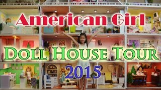 American Girl Doll House Tour 2015
