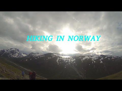 Hiking In Norway - Galdhøpiggen - the highest Norway mountain