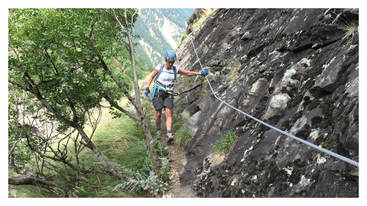 Klettersteig Hoachwool : Hoachwool klettersteig youtube