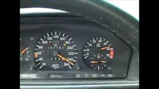 MERCEDES W124  E500 КРАШ-ТЕСТ, ТНЕ ВЕSТ