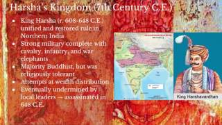 AP World History: Period 3: Post Classical India Part I