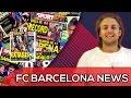 Piqué wants to Periscope with Sergio Ramos! | Denis Suárez to join Barça | BARCA NEWS