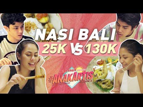 Anak Artis Season 3 - Nasi Bali 25 Ribu VS 130 Ribu