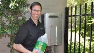Tankless Water Heater DeScaling - How To Flush