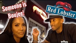 FIRST DATE AT RED LOBSTER -COUPLE VLOG