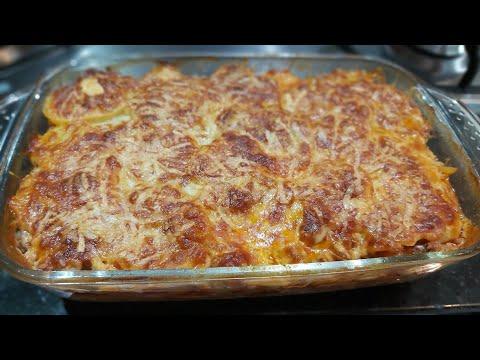 Lasanha de batatas